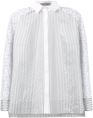 D-Exterior Striped Shirt