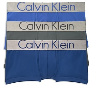 Calvin Klein Steel Low Rise Trunks, Pack of 3