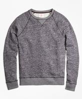Brooks Brothers Terry Raglan Crewneck Sweatshirt