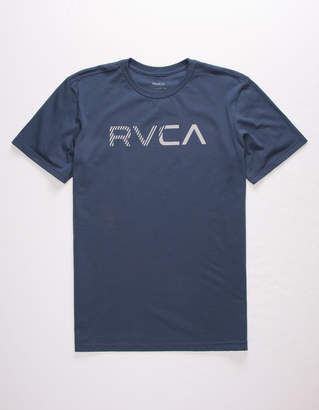 RVCA Blinded Heather Navy Mens T-Shirt
