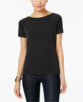 MICHAEL Michael Kors Embellished Cowl-Back Top
