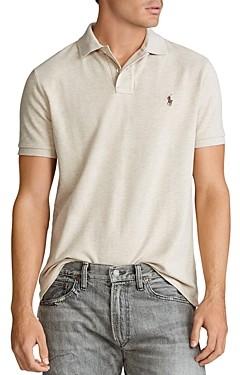 Polo Ralph Lauren Pique Custom Slim Fit Polo Shirt