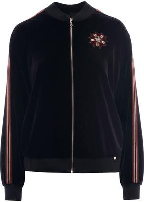 Nissa Velvet Tracksuit Jacket