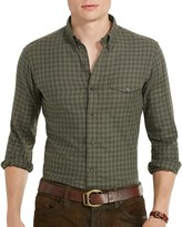 Polo Ralph Lauren Checked Twill Classic Fit Button Down Shirt