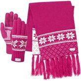 Trespass Womens/Ladies Corina Winter Scarf & Gloves Set
