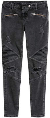 H&M Super Skinny Low Ankle Jeans