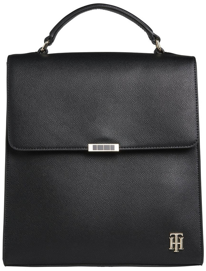 Tommy Hilfiger AW0AW08536BDS Saffiano Flap Over Backpack
