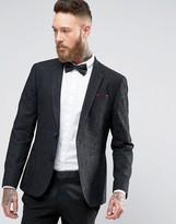Asos Slim Blazer in Black Lace