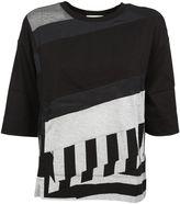DKNY Panelled T-shirt