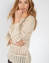 Fat Face Cara Crochet Jumper