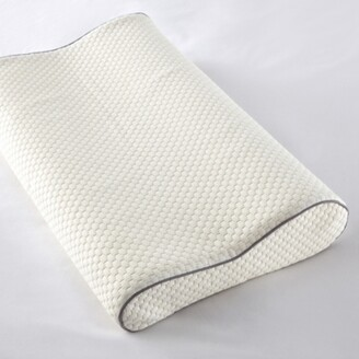 The White Company Memory Foam Pillow - Firm Support, No Colour, Standard