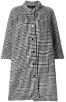 Balenciaga Women's Grey Wool Coat.