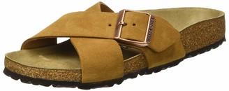 Birkenstock Mules Siena Cuir Suede Mink Womens Sandal