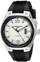 Jorg Gray Men's JG8300-11 Analog Display Quartz Black Watch