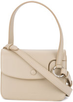 Jil Sander flap closure shoulder bag