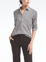 Banana Republic Dillon-Fit Banana Print Shirt