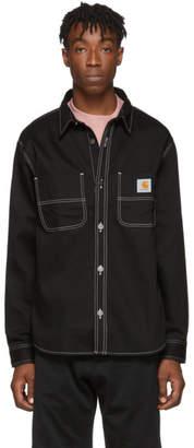 Carhartt Work In Progress Black Chalk Shirt Jacket