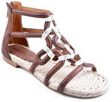 Adrienne Vittadini Pablic Leather Sandals