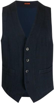 Barena Textured Casual Waistcoat