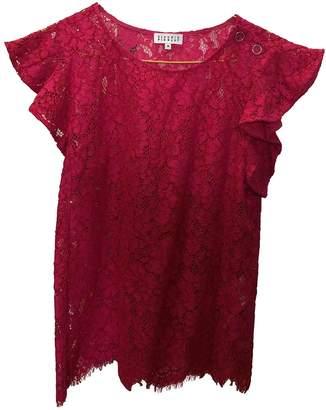 Claudie Pierlot Pink Cotton Tops