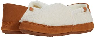 Acorn Collapsible Heel Moc II (Buff Popcorn) Women's Shoes