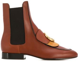 Chloé C Chelsea boots