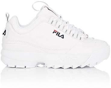 Fila Women's Disruptor 2 Lux Leather Sneakers - White