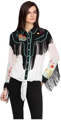 Double D Ranchwear Walkin After Midnight Top (String) Women's Clothing
