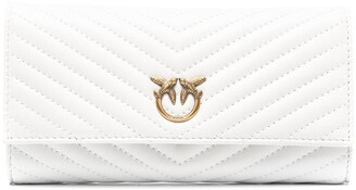 Pinko Logo-Plaque Quilted Purse