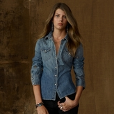 Denim & Supply Studded Denim Shirt