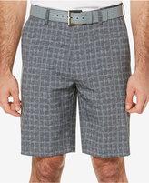 PGA TOUR Men's Windowpane Plaid Golf Shorts