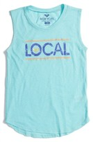 Roxy Girl's Live Local Graphic Muscle Tank