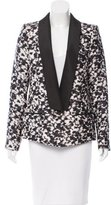 Rachel Zoe Printed Long Sleeve Blazer w/ Tags