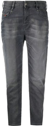 Diesel High-Rise Tapered Jeans