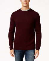 Tasso Elba Men's Wool Blend Textured Sweater, Only at Macy's