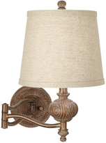 Kathy Ireland home by Pacific Coast Grand Maison Swing Arm Wall Lamp