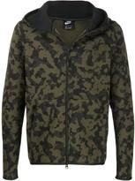 Nike Tech Fleece camouflage zip-up hoodie