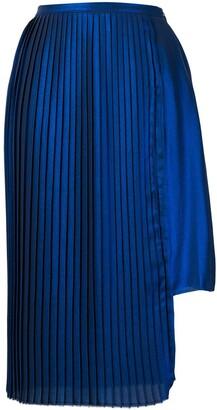 Each X Other asymmetric pleated skirt