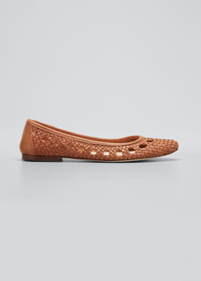 Loeffler Randall Maura Woven Ballet Flats