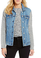 Jessica Simpson Peri Oversized Denim Jacket