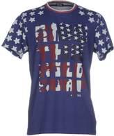 Blauer T-shirts