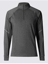 M&S Collection Active Funnel Neck Top