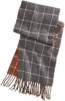 Polo Ralph Lauren Men's Reversible Windowpane Scarf