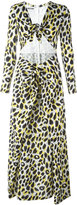 Moschino leopard print maxi dress - women - Rayon/other fibers - 42