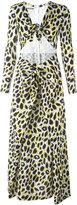 Moschino leopard print maxi dress