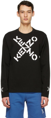 Kenzo Black Sport Long Sleeve T-Shirt