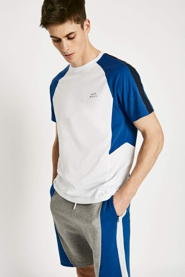 Jack Wills Perivale Colour Block T-Shirt