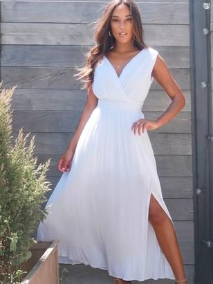 New York & Co. Crinkle Maxi Dress