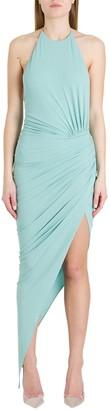 Alexandre Vauthier Draped Jersey Dress