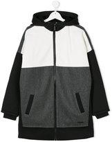 DKNY Teen hooded coat